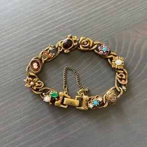 Vintage Goldette NYC Charm Bracelet